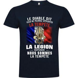 La legion reponde nous sommer la tempete