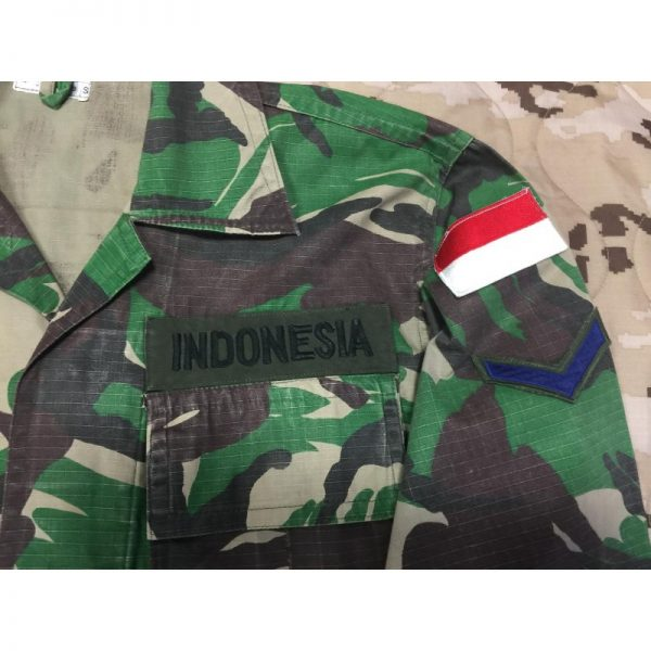 Uniforme Woodland INDONESIA
