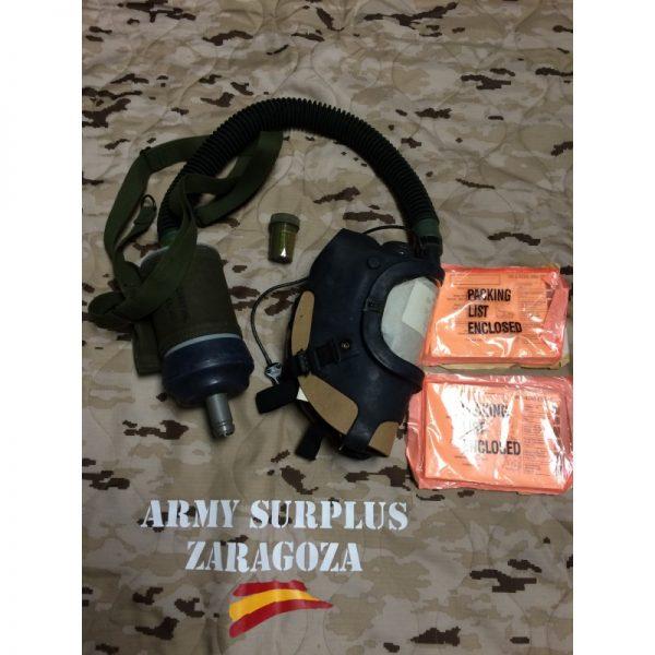 Mascara de Gas Panzer US M25A1 surplus