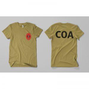 Camiseta COA
