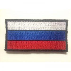 Bandera Rusia bordada