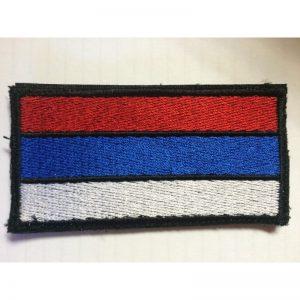 Bandera Rusia bordada Mini