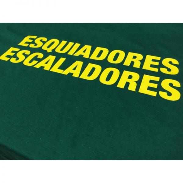 Camiseta Esquiadores-Escaladores
