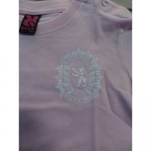 Camiseta Bebe 6m Policia Zaragoza