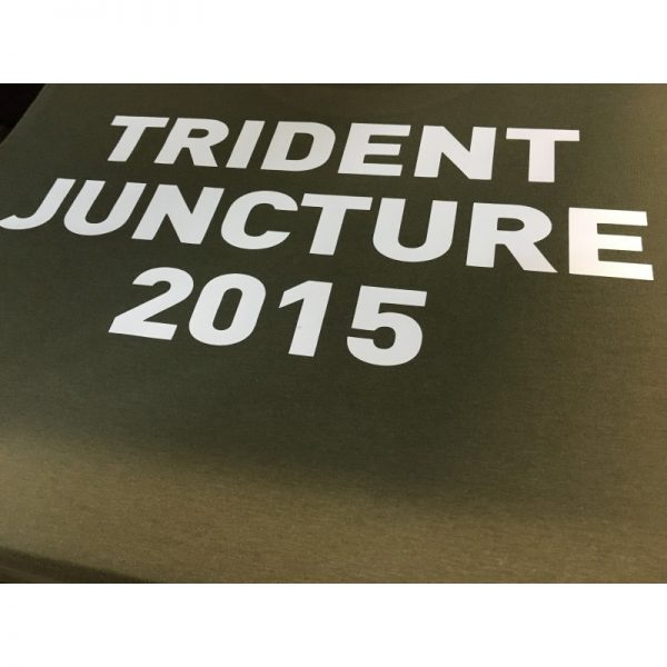 Camiseta Trident Juncture 2015