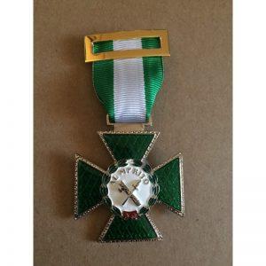 Cruz Merito Guardia Civil Dtvo Blanco