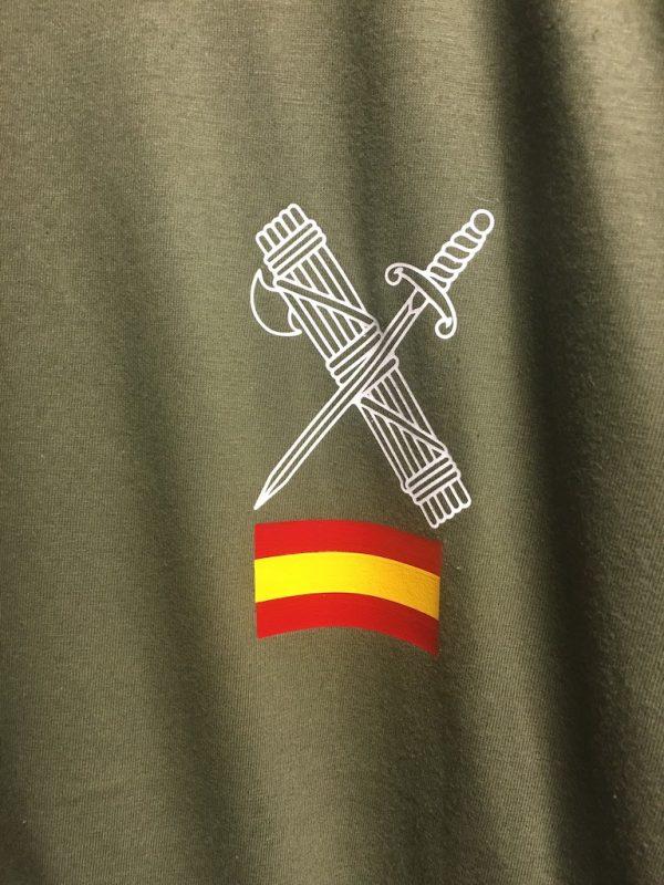 Camiseta tecnica deporte Guardia Civil