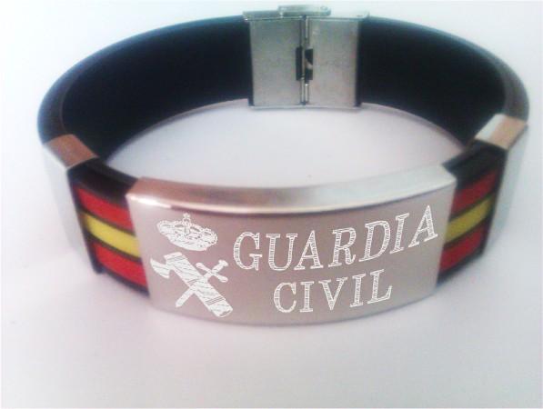 Pulsera Bandera España Grabada