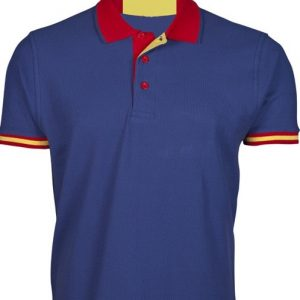 Polo Azul Bandera de España