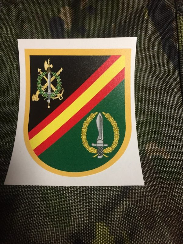 Pegatina Exterior Legion Española