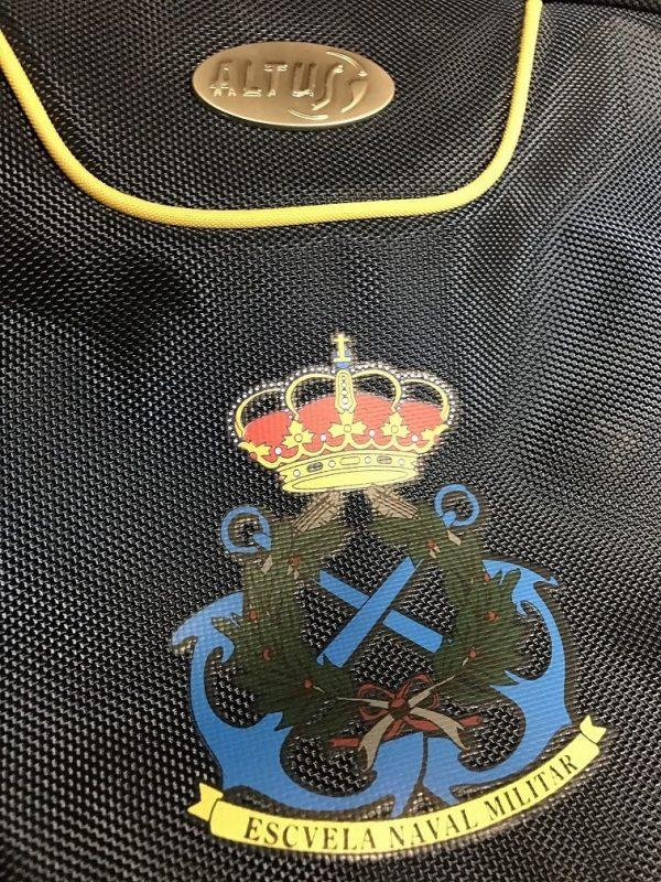 Maleta ALTUS DELHI Escuela Naval Militar