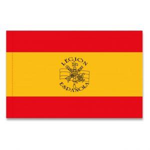 Bandera Mochilera Legión Española