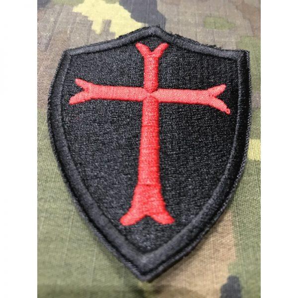 Emblema bordado Cruz Templarios
