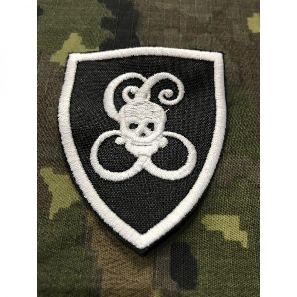 Emblema bordado Compañia Calavera