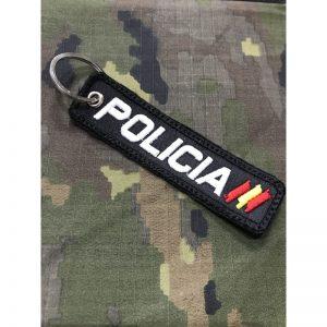 Llavero Bordado POLICIA