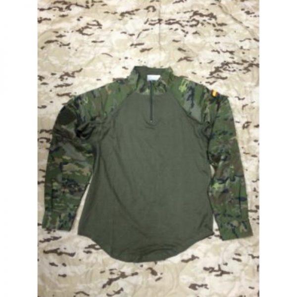 Camiseta de combate Boscosa Pixelada