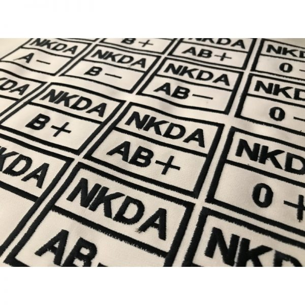 Emblema Grupo sanguineo NKDA