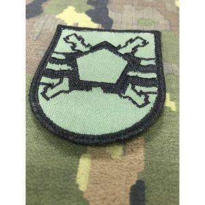 Emblema bordado brazo MING