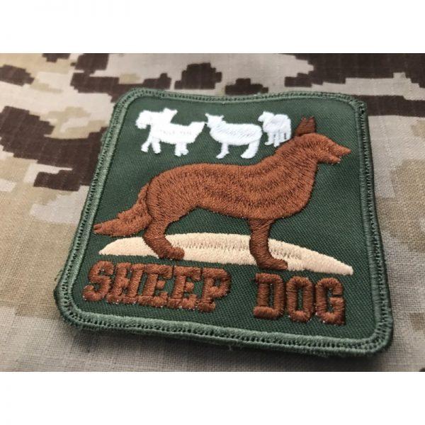 Emblema bordado SHEEP DOG