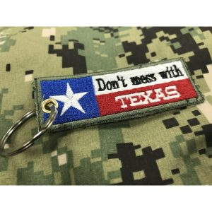 "Llavero "" Don´t mess with TEXAS """