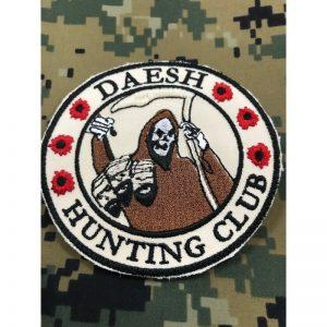 Emblema DAESH CLUB HUNTING