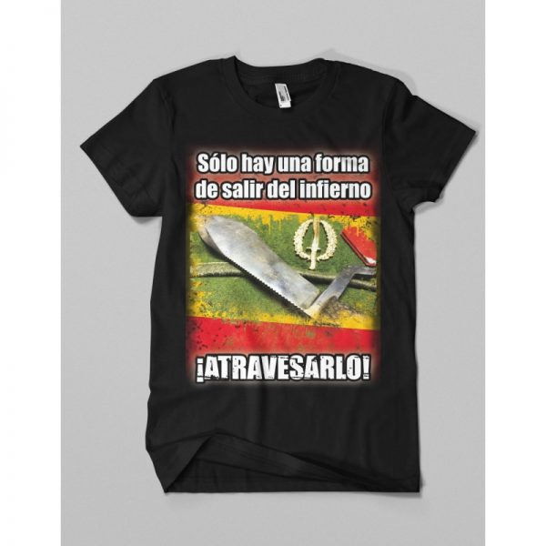 Camiseta INFIERNO