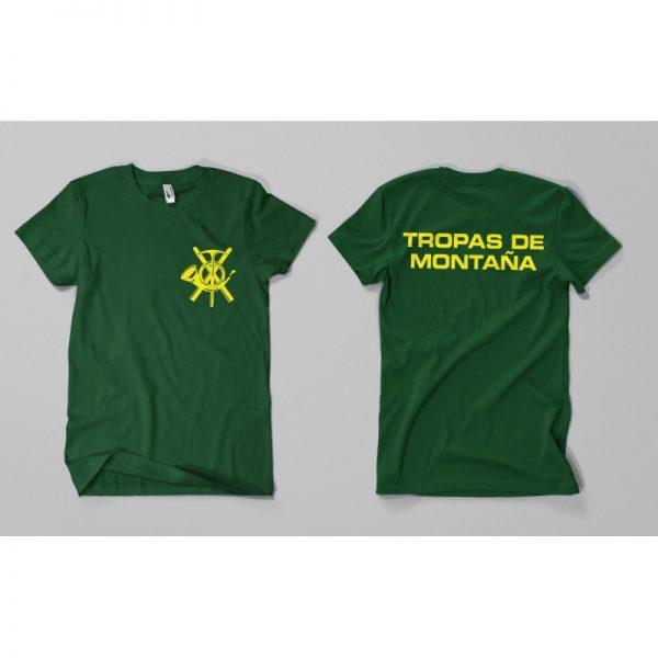 Camiseta TROPAS DE MONTAÑA
