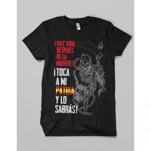 Camiseta Muerte