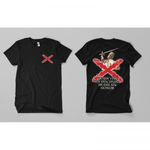 Camiseta Disciplina y Honor