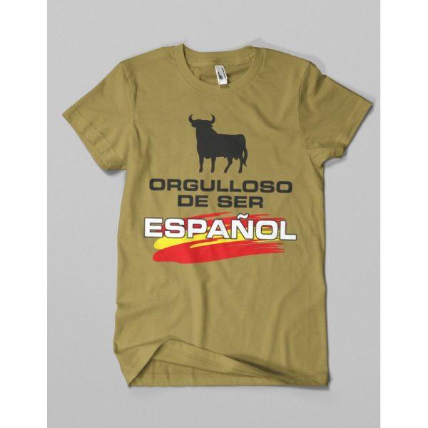 Camiseta ORGULLOSO DE SER ESPAÑOL