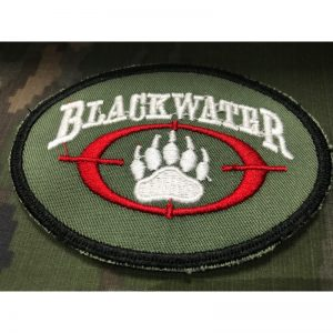 Emblema Bordado Verde BLACKWATER