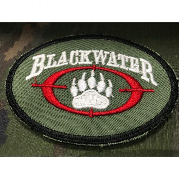 Emblema Bordado Verde BLACKWATER