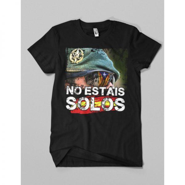 Camiseta NO ESTAIS SOLOS