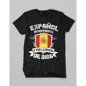 Camiseta ESPAÑOL DE NACIMIENTO