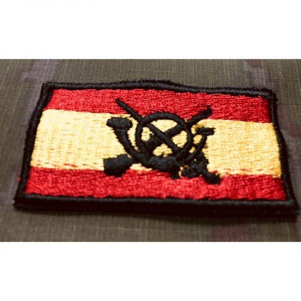 Bandera de España brazo bordada