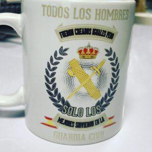 Taza Solo los Mejores...Guardia Civil