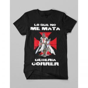 Camiseta Templaria Correr