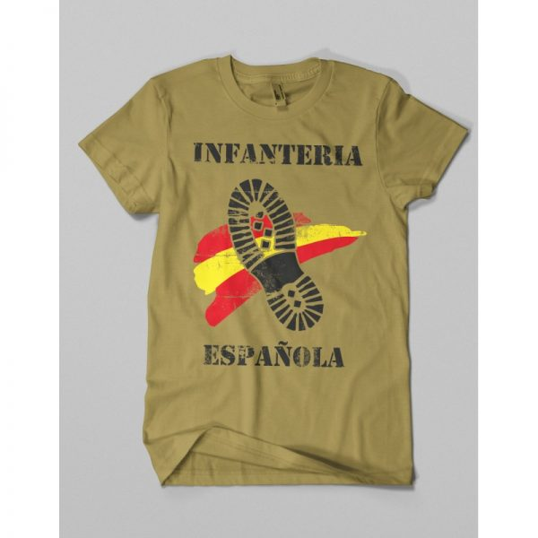 Camiseta Infanteria Bota