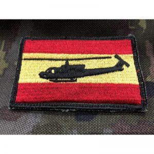 Bandera de España Bell UH-1