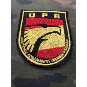 Emblema de brazo bordado UPR