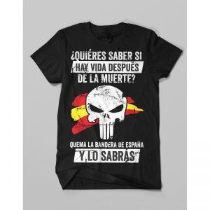 Camiseta Punisher Bandera