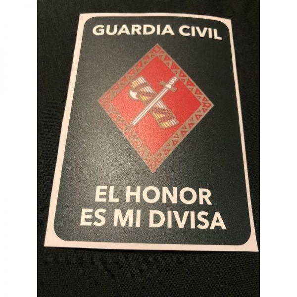 Pegatinas Guardia Civil años 80