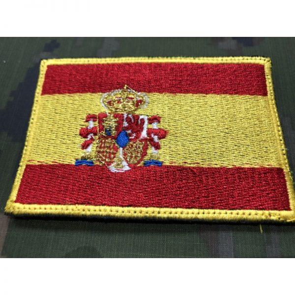 Bandera de España bordada escudo