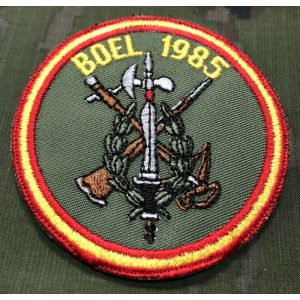 Emblema BOEL 1985