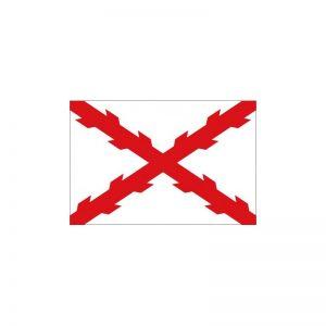 Bandera Cruz de Borgoña