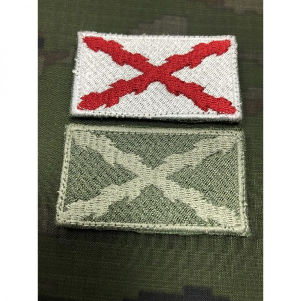 Bandera de brazo Cruz Borgoña