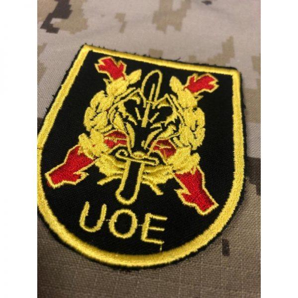 Emblema bordado UOE