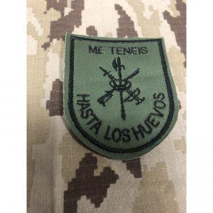 """Emblema Legion """"Me teneis hasta los huevos"""""""