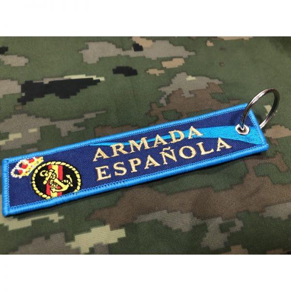 Llavero Armada Española