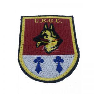 Emblema bordado CNP-Guia Canino